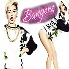 Miley Cyrus Bangerz Poster by rivendellkid