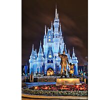 Cinderella Castle Dream Lights Photographic Print