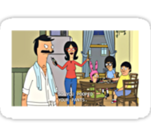 Bob's Burgers Family Sticker