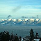 January at Flathead Lake by Bryan D. Spellman