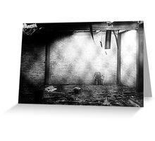 Caged. Greeting Card