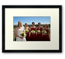 Adrian and Zoe Terrace 8 Framed Print