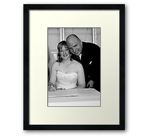 Adrian and Zoe Terrace 14 Framed Print