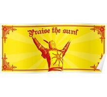 Praise The Sun! Poster