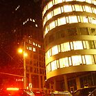VIENNA CITY LIGHTS Nr.375 - Marxergasse by Wolfgang Pawlik