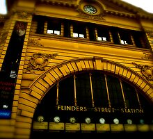 just another Flinders street pic by Adrian Jeffs