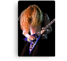 Dave Mustaine of Megadeth Canvas Print