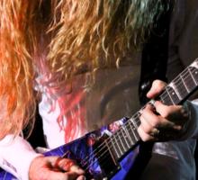 Dave Mustaine of Megadeth Sticker