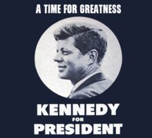 1960 John F. Kennedy Campaign Design by TruthtoFiction