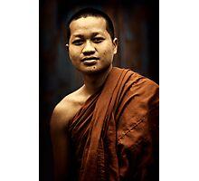 Phnom Penh monk Photographic Print