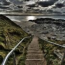 Steps at Godrevy by Kevin Hart