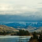 November on the Flathead River by Bryan D. Spellman