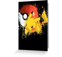 Pika Smash Greeting Card