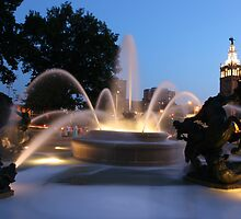 The Plaza Kansas City Mo by Scott Shaffer