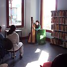 Harp recital at a public library by LouiseC