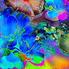 Pond in Psychedelic Colours by Nadya Johnson