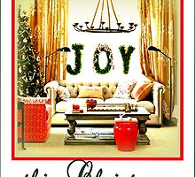 JOY this Christmas by ©The Creative  Minds