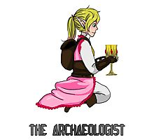 The Haunted - Maiya: The Archaeologist Photographic Print