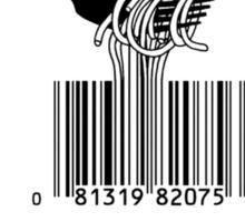 Bar code Soup Sticker