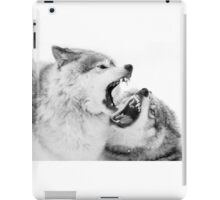 Christmas Howlers - Timber Wolf iPad Case/Skin