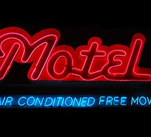 Roadside Motel by Karin  Hildebrand Lau