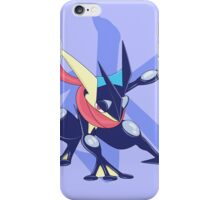Greninja with Water Kanji iPhone Case/Skin