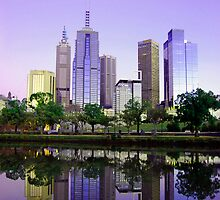 Melbourne CBD by Christine  Wilson Photography
