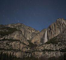 Yosemite Falls By Night by Philip Wong