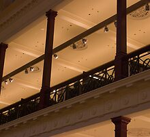 Balcony detail - State Library of Victoria by Karen Gough