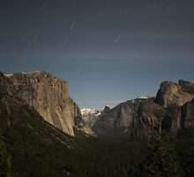 Yosemite Valley By Night by Philip Wong