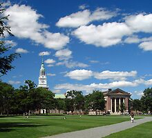 The Green, Dartmouth College, Hanover, NH by Judith Winde