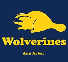 Wolverines  by theofficiallev