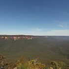Sublime Point.  Leura, Blue Mountains, NSW by Mandy Gwan