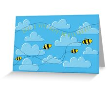 Happ - bee Birthday! Greeting Card