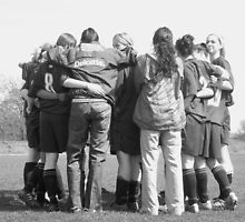 Team Huddle by Verity Barnes