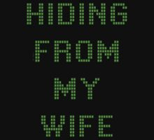 HIDING FROM MY WIFE by Cheryl Hall