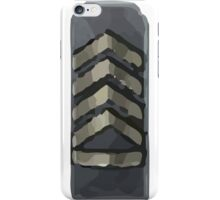 Silver elite iPhone Case/Skin