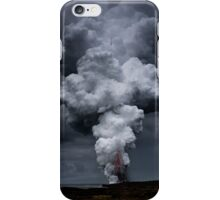 Kilauea Volcano at Kalapana 3a iPhone Case/Skin