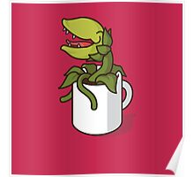 Audrey II, Don't Give Coffee to the Plant! Poster