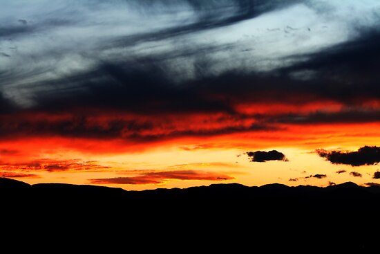 painted sky by Kelly Angard