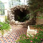 Appealing Grotto! in Tropical House, Botanic Gdns. Adelaide C.B.D. by Rita Blom