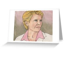 The I In Team - Maggie Walsh - BtVS Greeting Card