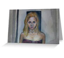 Who Are You? - Buffy/Faith - BtVS Greeting Card