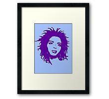 Lauryn Hill 2 Framed Print