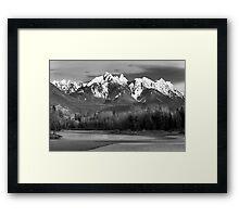 Ragged Ridge Framed Print
