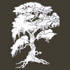 White Tree Tee by Greig Nicholson
