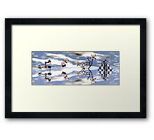 A Day in the Life, Chasing White Rabbits Framed Print