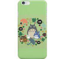 Green Totoro Wreath - My Neighbor Totoro iPhone Case/Skin