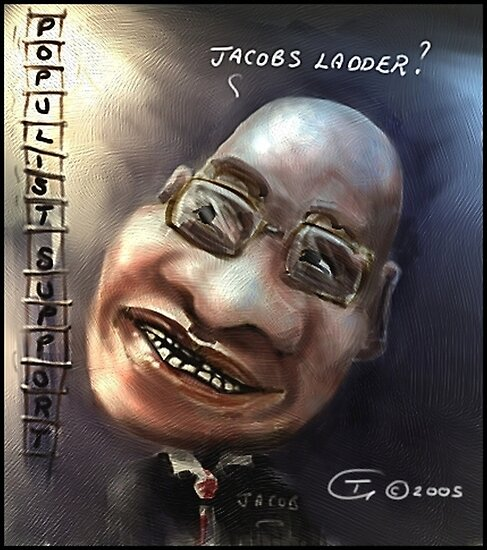 Jacob Zuma by Tom Godfrey
