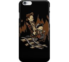 Hold onto your Potatoes, Dr. Hobbes! iPhone Case/Skin